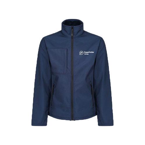Navy Jacket - Horizontal logo - Small