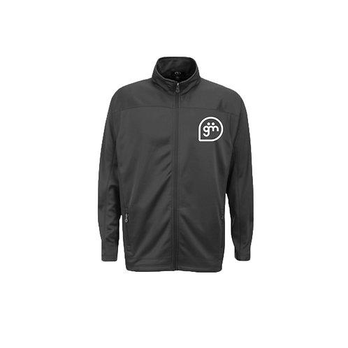 Dark Grey Fleece- Logo only - Large