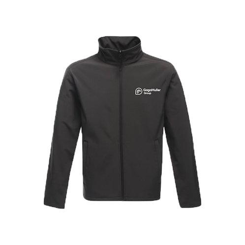 Dark Grey Jacket - Horizontal logo - Small