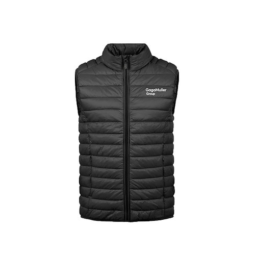 Black Gillet- Text only - Small