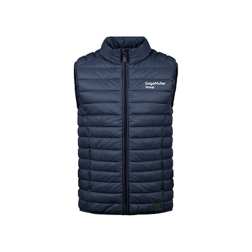 Navy Gillet- Text only - Small