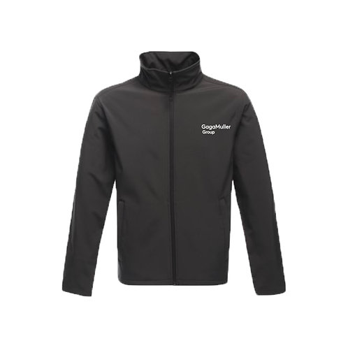 Dark Grey Jacket- Text only - Small