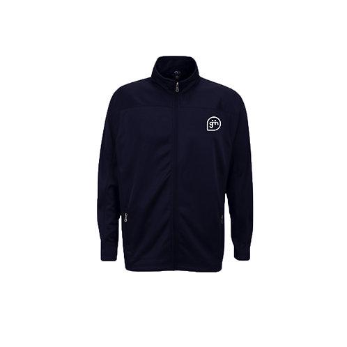 Navy Fleece- Logo only - Small