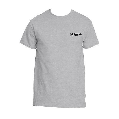 Light Grey T-Shirt - Horizontal Logo - Small