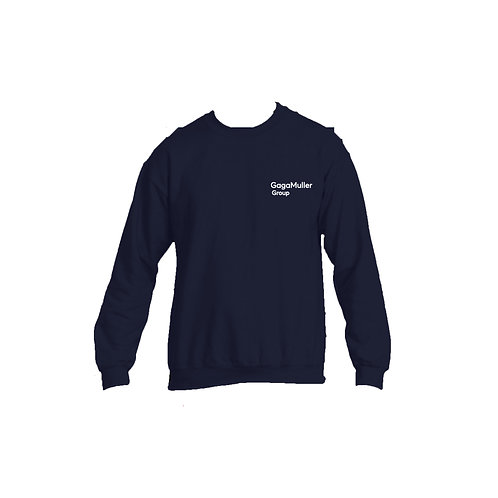 Navy Jumper- Text only - Small
