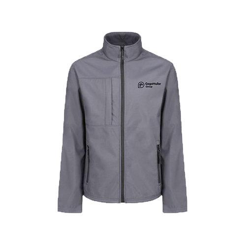 Light Grey Jacket- Horizontal logo - Small