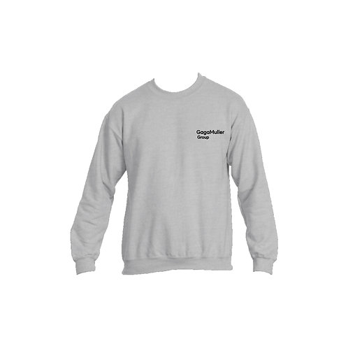 Light Grey Jumper- Text only - Small