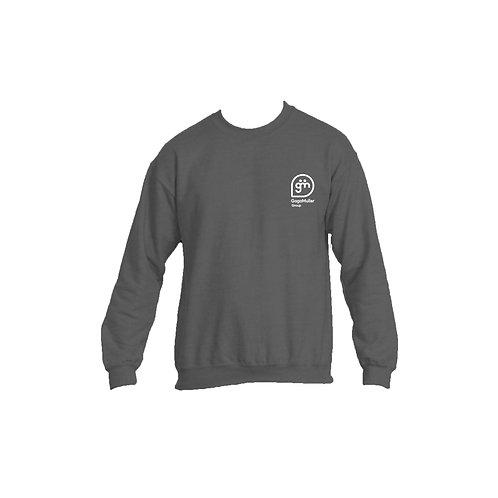 Dark Grey Jumper - Stacked logo - Small