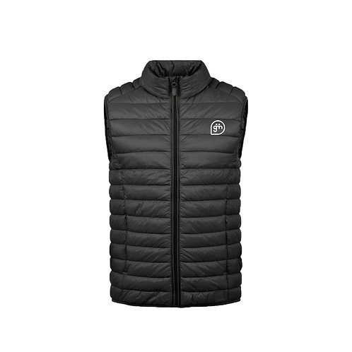 Black Gillet- Logo only - Small