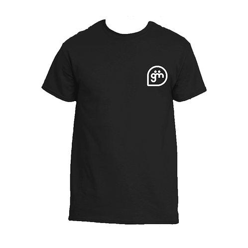 Black T-Shirt - Just Logo - Big