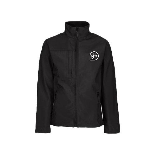 Black Jacket- Logo only - Large