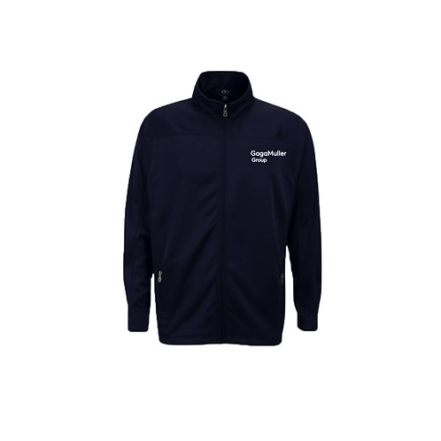 Navy Fleece - Text only - Small