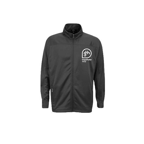 Dark Grey Fleece - Stacked logo - Large