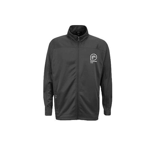 Dark Grey Fleece - Stacked logo - Small
