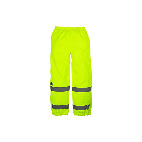 High vis rainproof trousers
