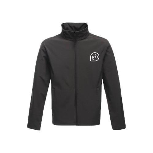 Dark Grey Jacket- Logo only - Small