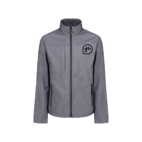 Light Grey Jacket- Logo only - Large