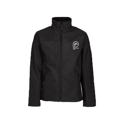 Black Jacket - Stacked logo - Small