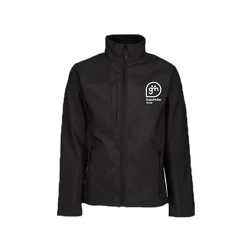 Black Jacket - Stacked logo - Large