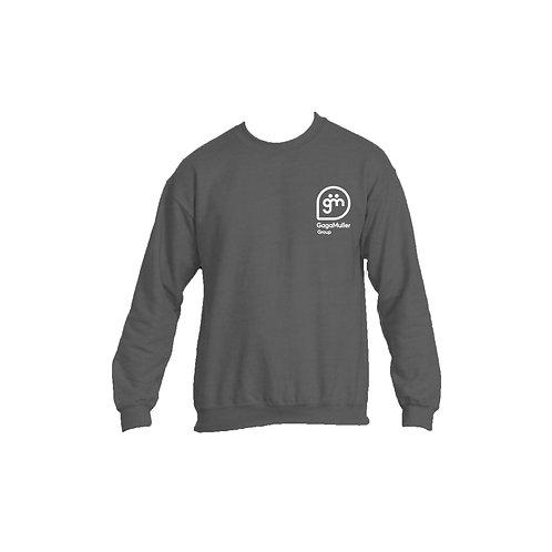 Dark Grey Jumper - Stacked logo - Large