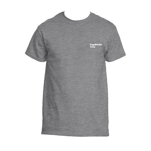 Dark Grey T-Shirt - Just Text - Small