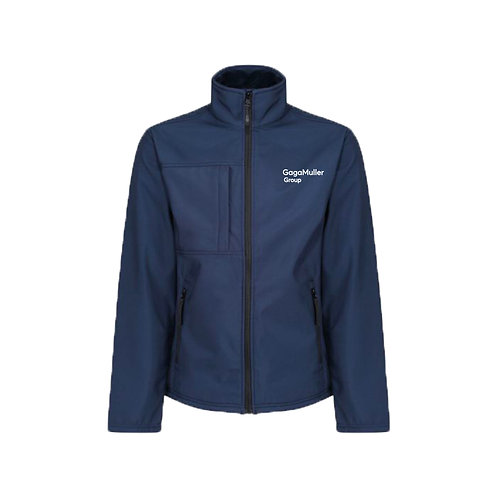 Navy Jacket- Text only - Small