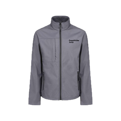 Light Grey Jacket- Text only - Small
