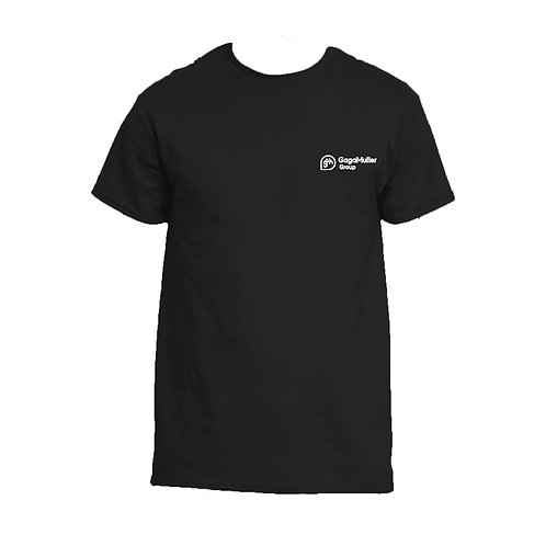 Black T-Shirt - Horizontal Logo - Small