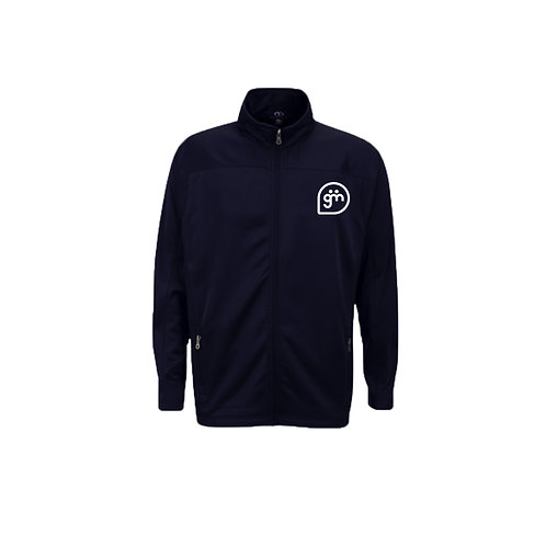 Navy Fleece- Logo only - Large