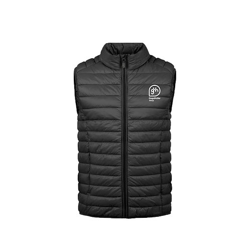 Black Gillet - Stacked logo - Small