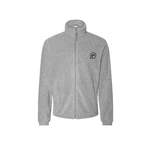 Light Grey Fleece- Logo only - Small