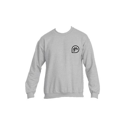 Light Grey Jumper- Logo only - Large