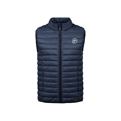 Navy Gillet- Logo only - Small