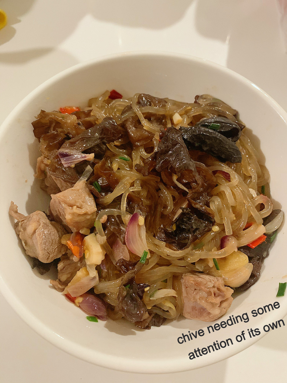 Low-Key Lazy Lamb Japchae: The Secret to A Power-Packed Dish