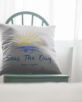mockup-of-a-square-pillow-lying-on-a-cha