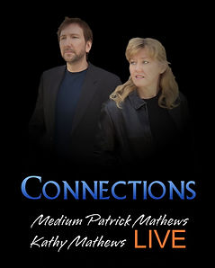 Medium Patrick Mathews - Author Kathy Mathews