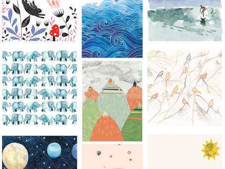 Week Favs: Kids Mural Wallpapers