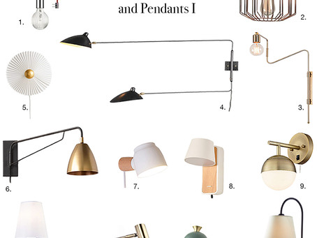 Get the Look: Plug-in Wall Sconces and Pendants - No Electrician Needed!