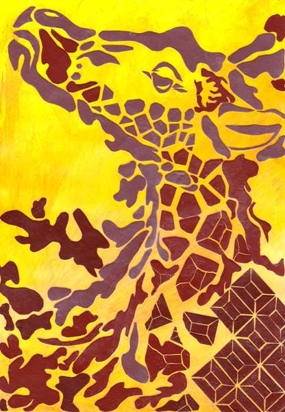 Chocolate Giraffe