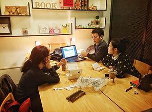 소셜팩토리 social factory 홍대 상수 북카페 스터디룸 워크샵