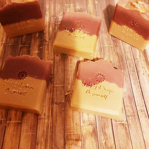 Raspberry Jam Wine soap