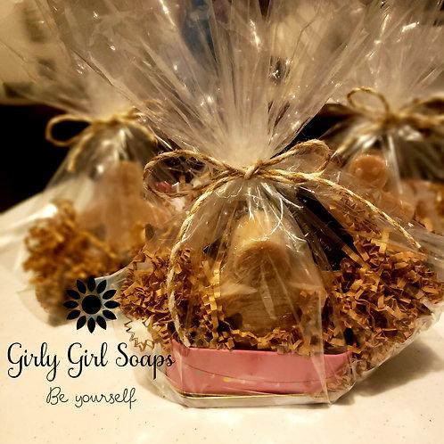 Gingerbread  Cookie Scrub/Soap Tin