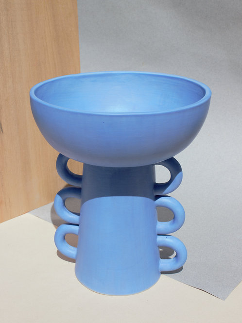 Cobalt Dual Vase/Candy Bowl