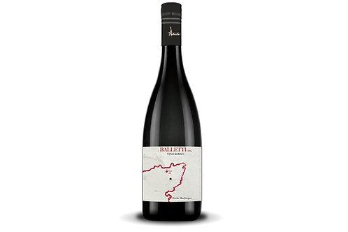 Balletti 2015  Vino Rosso 1000mt Nerello Mascalese 0.75lt