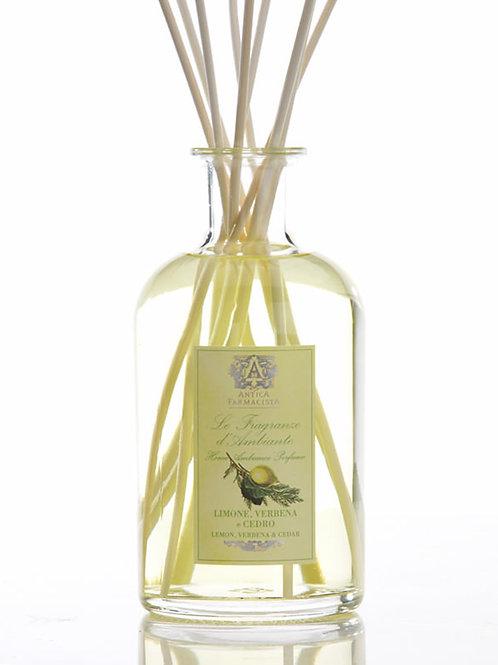 Antica Farmacista Lemon, Verbena & Cedar 500 mL Reed Diffuser