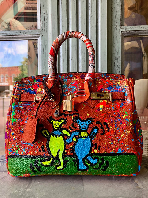 Anca Barbu Bear Handbag