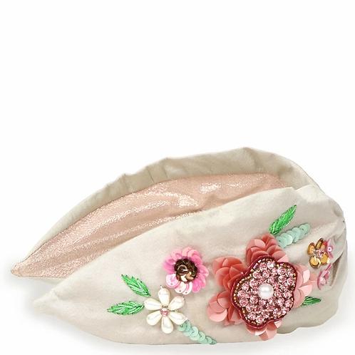 Powder Headband-Floral