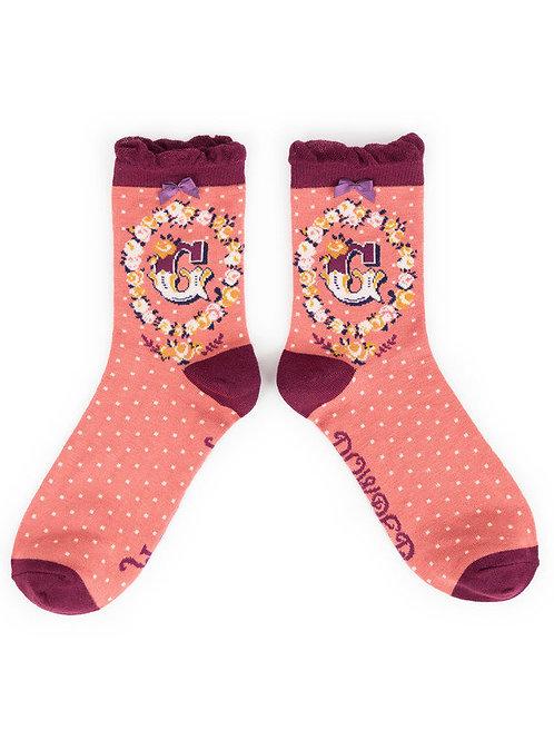"""""""G"""" Ankle A-Z socks"""