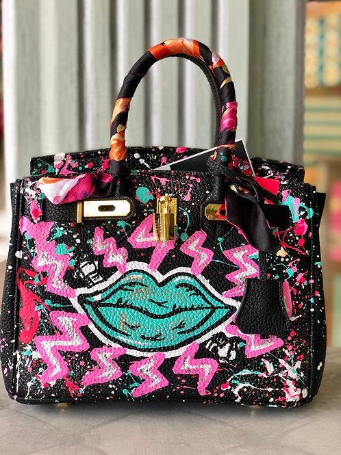 Green Lip Bag
