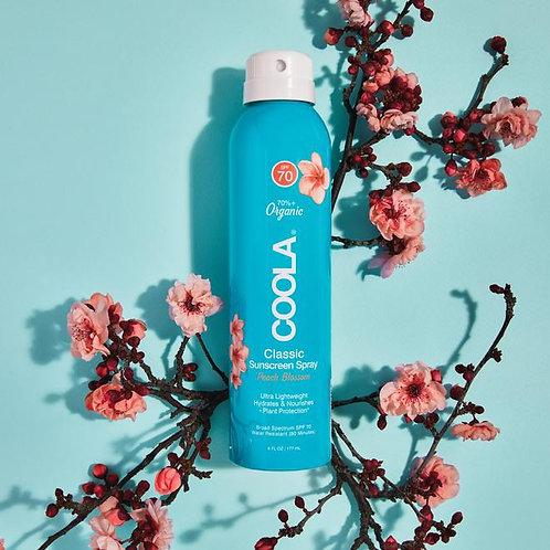CLASSIC BODY ORGANIC SUNSCREEN SPRAY SPF 70- Peach Blossom / 6 fl oz
